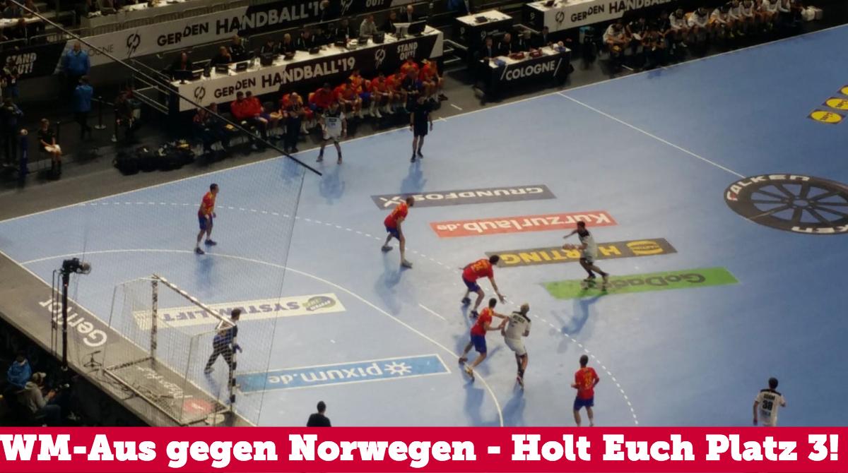 WM Aus gegen Norwegen