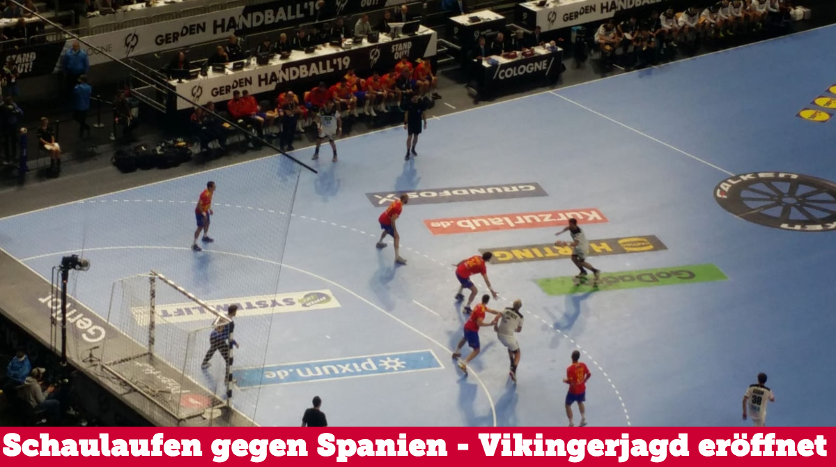 DHB schlägt Europameister Spanien – Vikingerjagd im Halbfinale!