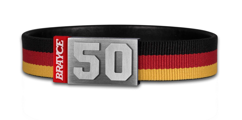 Deutschland Trikot am Handgelenk® mit Nummer 50