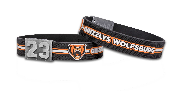 Grizzlys Wolfsburg Armband Nummer 23