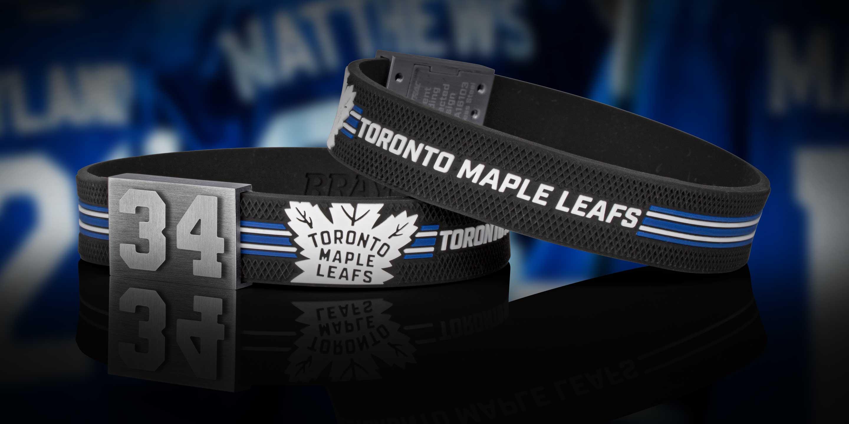BRAYCE NHL Toronto Maple Leafs bracelet - BRAYCE® US Official Website – The  Jersey Bracelet® – Your number d11dd47a2