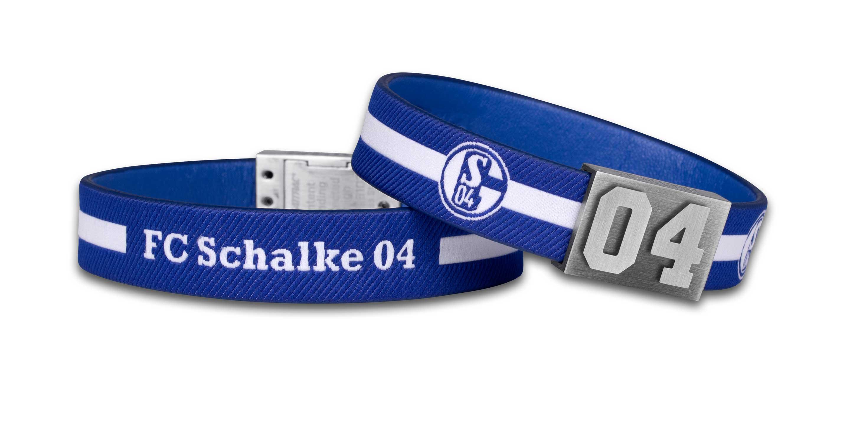 Schalke 04 Armband Nummer 04