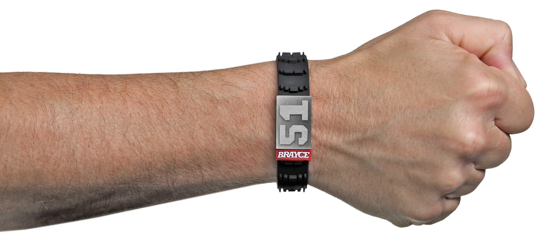 Motocross Armband Nummer 51