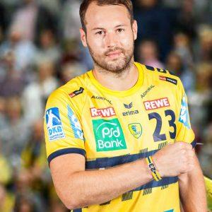 Steffen Fäth #23 ist bei der Handball WM dabei