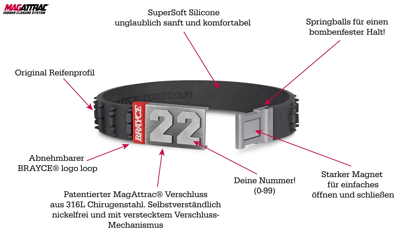 Motocross Armband Produktinformation