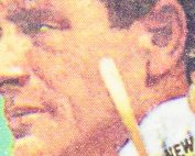 Lou Gehrig #4 im Portrait